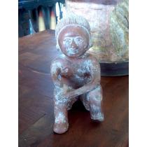 Escultura De Hombre Prehispanico. Envio Gratis. En Remate!!!