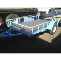 Remolque Multiusos Cama Baja Camioneta Camiones