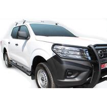 Estribo Nissan Np300 Frontier Doble Cabina 5 Pulgad Aluminio