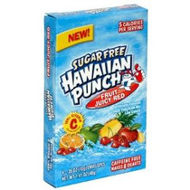 Ponche Hawaiano, Sin Azúcar Fruta Roja Jugosa, Paquete 8-cou