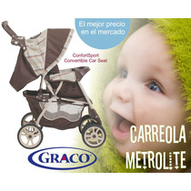 Carriola Para Bebe Graco Metrolite, 100% Nueva! Excelente!