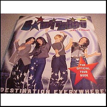 B Witched The Official Tour Book Libro