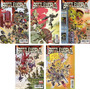 Marvel Comics Secret Wars Battle World 1 2 3 4 Variante
