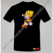 Playera Dragon Ball Z Playera Goku Sayayin Puño Xvox