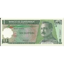 Polimero Guatemala 1 Quetzal (2008) Gral. Jose Ma. Orellana