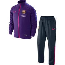 Conjunto Chamarra Pants Nike Barcelona 14 15 100% Original