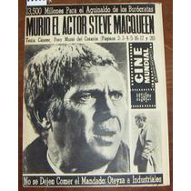 Revista Cinemundial,steve Macqueen En Portada