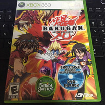 Bakugan Battle Brawlers Xbox 360 Seminuevo En Igamers