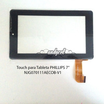 Touch Tableta Philips 7 Njg070111aecob-v1 Envio Gratis