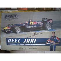 Neel Jani Foto Autografiada Piloto Serie Champ Car