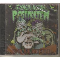 Eyaculacion Post Mortem - Viva ( Dead Rock Español ) Cd Dark