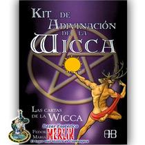 Oráculo Wicca / 45 Cartas Y Libro Para Adivinación