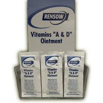 Rensow Súper Vitaminas A Y D Ungüento - Los Paquetes De Lámi