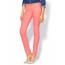 Pantalones Mossimo Skinny Pink T-28 Nuevo Orig,guess,true Re