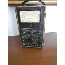 Antiguo Multimetro Vtvm Precision Ev-20 Para Reparar