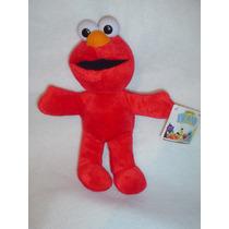 Elmo Chico De Plaza Sesamo De Tela Para Bebes ! ! !