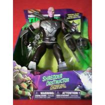 Tortugas Ninja Figura Shredder Destructor De 30 Cm