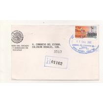 L616-sobre Circulado Mexico Turístico Sonora N$6.50 5ta Emis