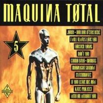 Cd Doble E Importado De Dance: Maquina Total 5
