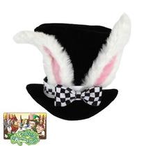 Sombrero De Conejo De Alicia Para Adultos, Envio Gratis