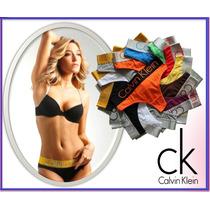 Lote 10 Tangas Calvin Klein Originales Boxer Panties Ck