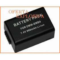 Bateria Li-ion Dmw-bmb9 P/ Camara Panasonic Lumix Dmc-fz100