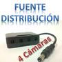 Cpcam T4dc Pcon01z Distribuidor De Energía Para 4 Cámaras