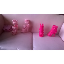 Barbies, Model, My Scene, Zapatillas, Lote O Solas