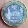 100 Pesos 1997 Plata Mexico Estado De Tlaxcala - Dvn