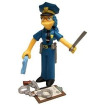 Playmates Simpsons Serie 7 Officer Marge Vv4