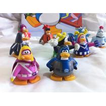 Colección De Pingüinos Club Penguin + Cuento Con Stickers