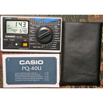 Reloj Vintage Casio World Time Pq-40u De Mesa Checalo Hm4