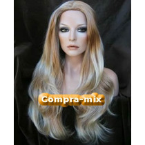 Peluca Super Natural Extra Larga Color Rubia, Flr