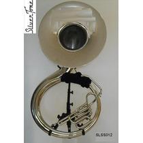 Silvertone Tuba Sousafon ßb ( Si B ) Embolos Cupronickel