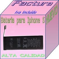 Bateria Para Iphone 5s 1560mah N/p 616-0720