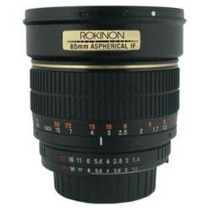Objetivo Lente 85mm F1.4 Aspherical Lens P/ Canon Nuevo Maa