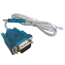 Cable Adaptador Rs232 Serial Db9 Macho A Usb 2.0