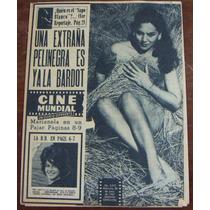Revista Cinemundial,marianela Peña En Portada