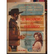 El Muchacho De Durango, Rodolfo De Anda Poster