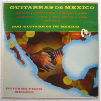 Guitarras De Mexico 1 Disco Lp Vinilo