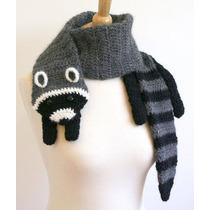 Bufandas Animalitos Tejida A Crochet
