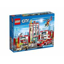 Lego City 60110 Fire Station Estacion Bomberos 919 Pz
