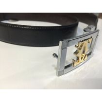 Cinto De Piel Nuevo Cartier (talla Estándar)
