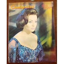 Revista Cinelandia, Sara Montiel, Elsa Aguirre, Lucha Villa