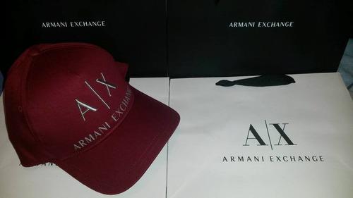 85a8492e25d Gorra Armani Exchange Original Con Etiqueta Certificado