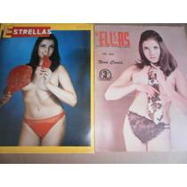 Nora Cantu Sexy Fotos + Posters 2 Revistas Mexico 1969 Flr
