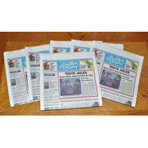 Volver Al Futuro Periódico Original Usa Today Marty Arresta