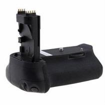 Empuñadura Vertical Grip P/ Canon 60d Mas 2 Baterias Hm4