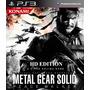Metal Gear Solid Peace Walker Hd Edition Ps3