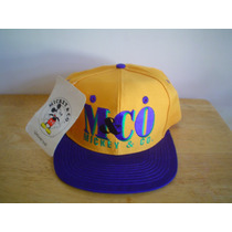 Mickey Mouse Gorra Ajustable Nueva